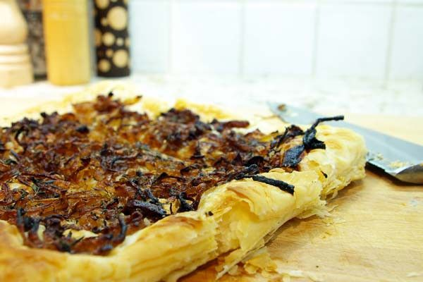 Onion Thyme tart | Recipes and Related Information | Pinterest