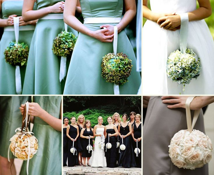 Bridesmaid Bouquet Alternatives Photography Wedding