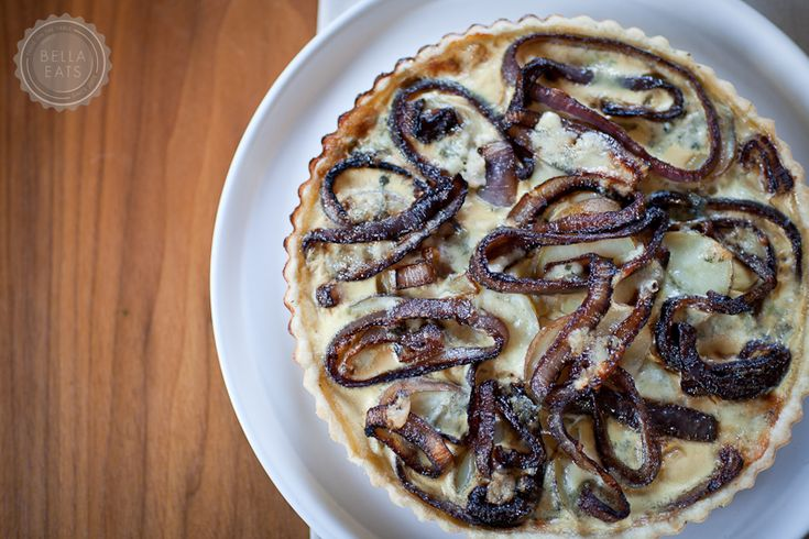 Potato, Red Onion + Blue Cheese Tart | Savory Pies and Tarts | Pinter ...