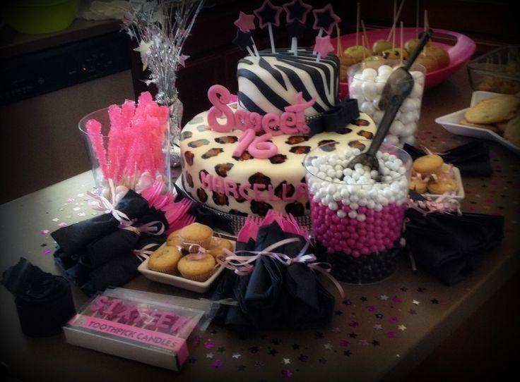 Sweet 16th birthday my birthday ideals pinterest for 16 birthday decoration ideas