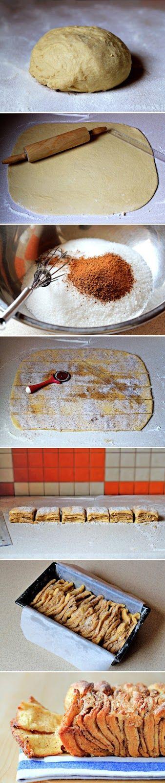 Pull-Apart Cinnamon Sugar Bread   Bread, muffins, pastries and rolls ...