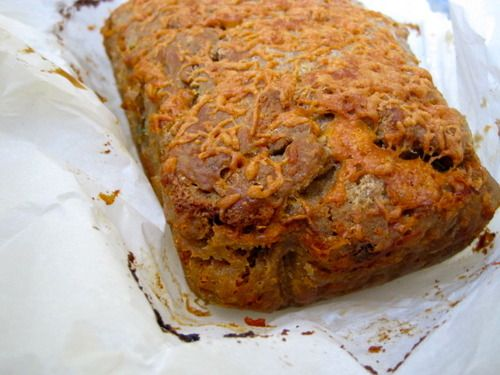 Cheddar and Chive Guinness Bread This bread is so...
