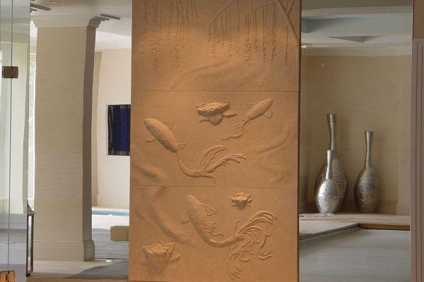 Stylish art plaster wall  drywall art/textures  Pinterest