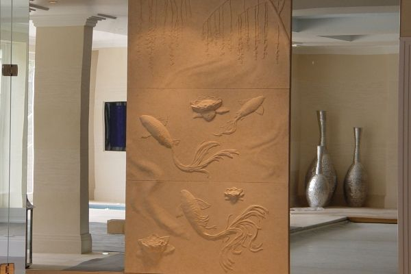 Stylish art plaster wall drywall art textures pinterest for Plaster wall art