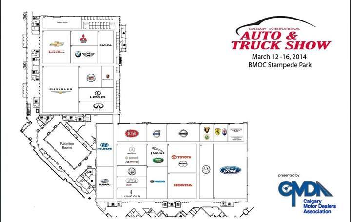 Calgary Auto Truck Show Floor Plan Calgary And Area