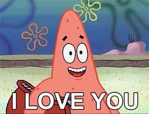i love you too spongebob -#main