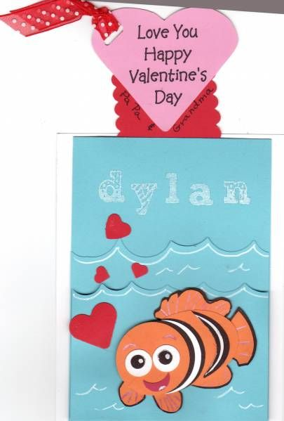 finding nemo valentines day cards