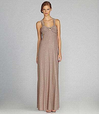 Night Way Glitter Gown Dillards