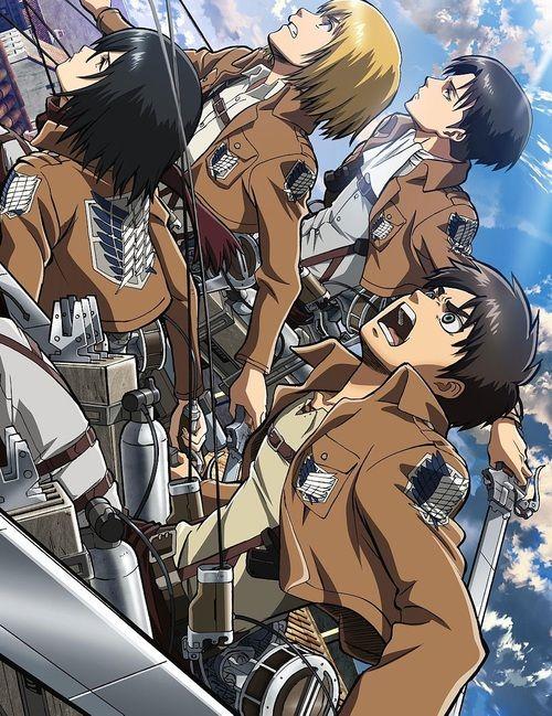 Mikasa Armin Eren Levi | Attack on Titan | Pinterest