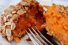 Sweet Potato Balls. sounds so good. uses fresh sweet potatoes baked ...
