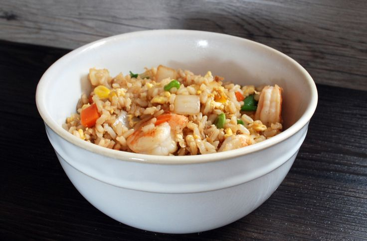 quick fried rice for one | yum! | Pinterest