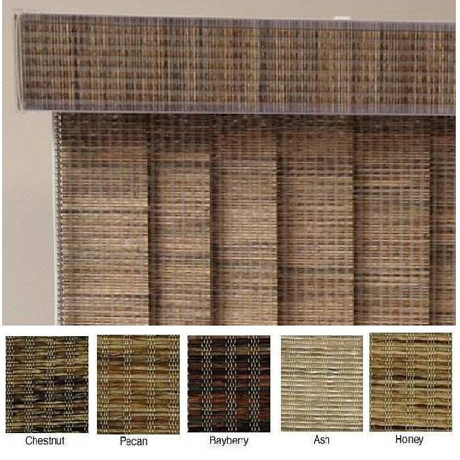 ... curtains and furniture, the shades are custom cut lengthwise in three