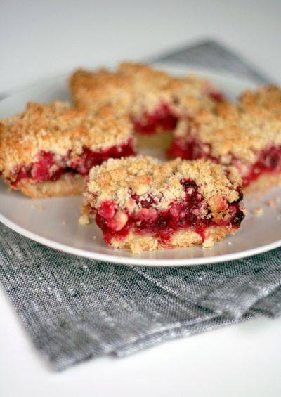 cranberry crumb bars | ! Join me in the kitchen ! | Pinterest