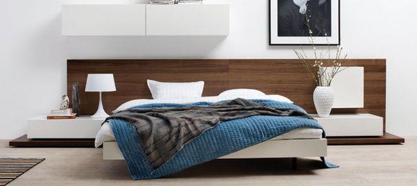 Tête de lit design  Idées chambres  Pinterest