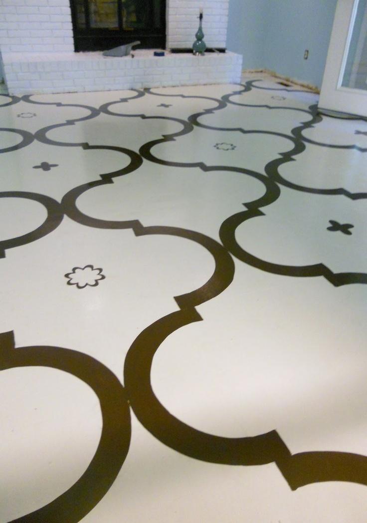 Painted parquet floor home decor pinterest - Painted parquet floor pictures ...