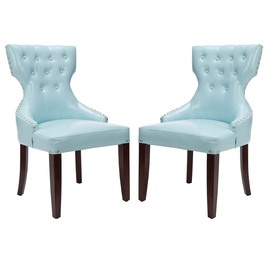 Blue accent chairs for the home pinterest
