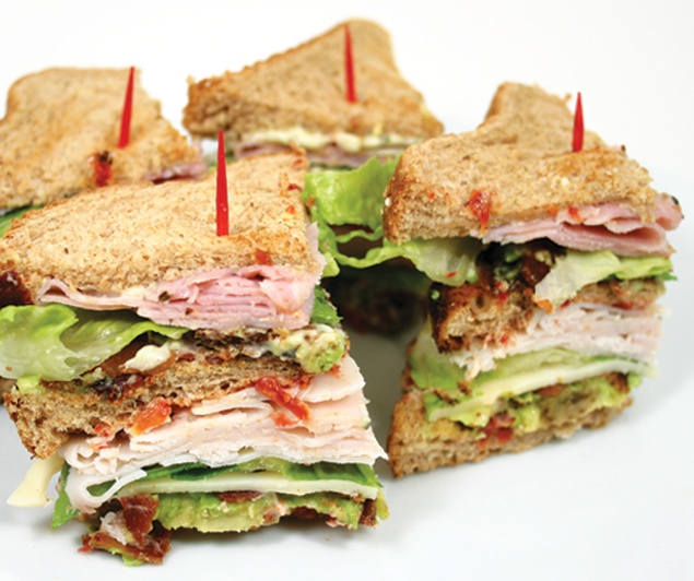 Killer Club Sandwich | You Can't Go Wrong with FOOD! | Pinterest