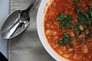 Red Lentil & White Bean Soup   Food!!   Pinterest