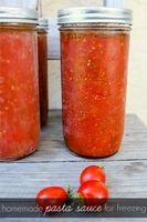 Freezer Tomato Sauce | Food and drinks | Pinterest