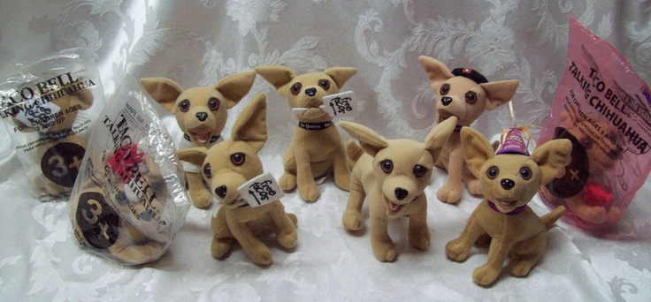 Taco Bell Talking Chihuahua stuffed dog animal ... | Childhood Nostal ...