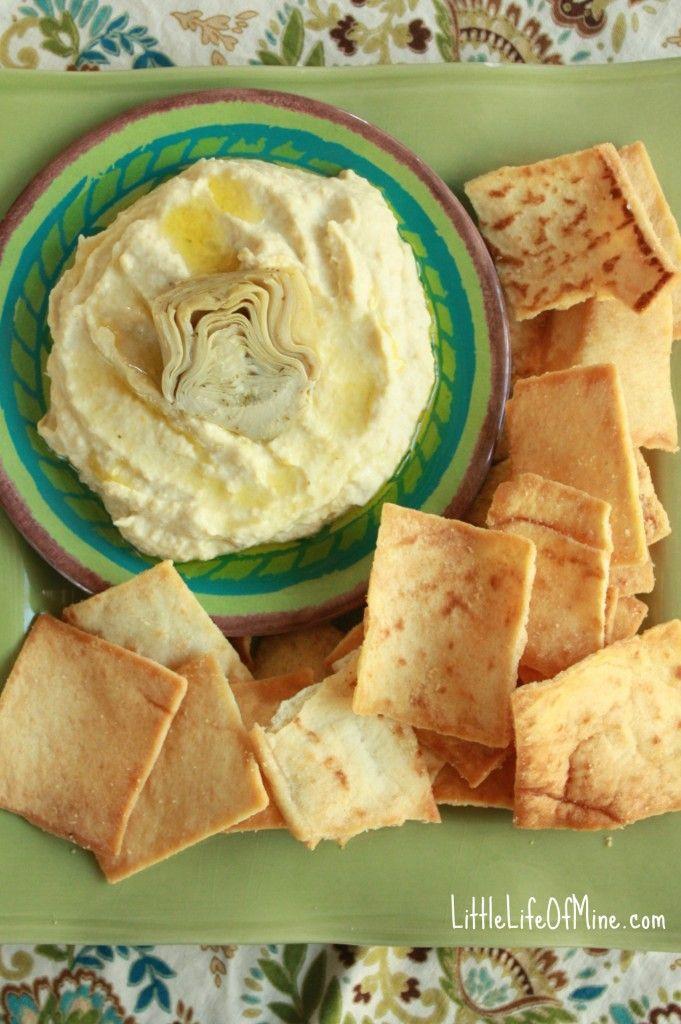Artichoke Hummus | Raw / Vegan Goodness | Pinterest