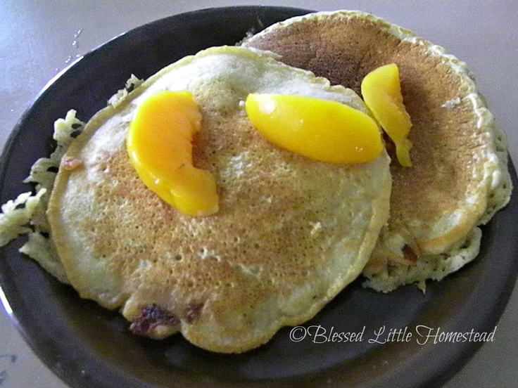 Whole Wheat Peach Pancakes | better 4 u EATS n TREATS! | Pinterest