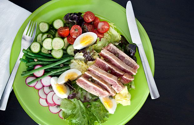 Seared Tuna Nicoise Salad Recipe