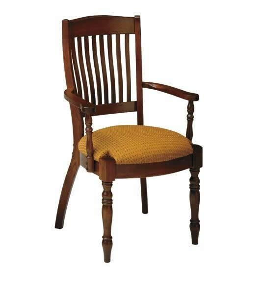 Amish French Country Martinique Dining Chair Keystone