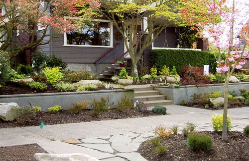 seattle landscape design Google Search Fountains