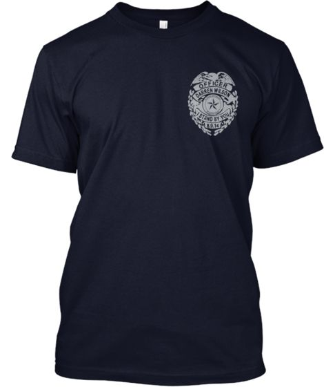Support officer darren wilson t shirts
