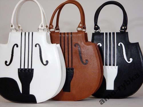 torebka skrzypce