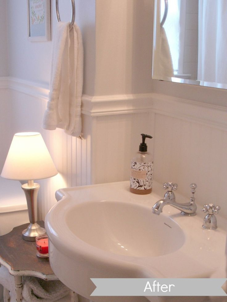 Diy Bathroom Remodel Home Pinterest