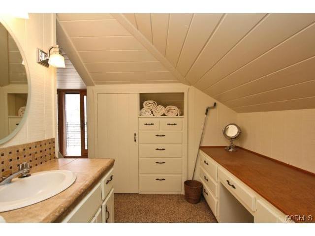 slanted ceiling  bathroom    Bathrooms    Pinterest