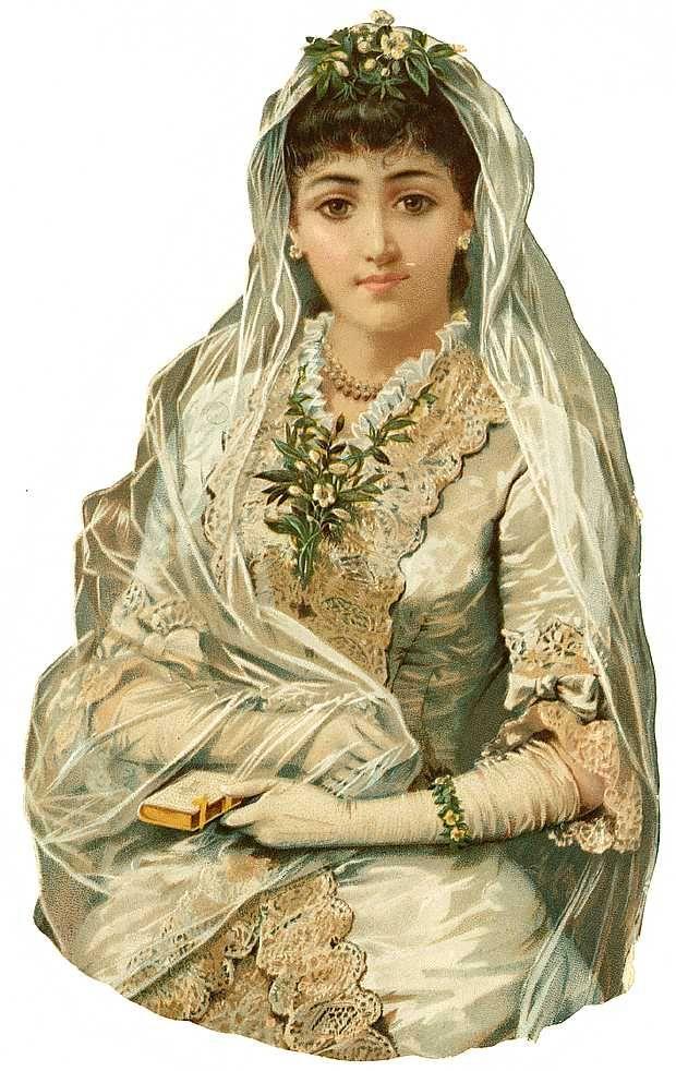 Scrap Victorian Lady —  (620×982)