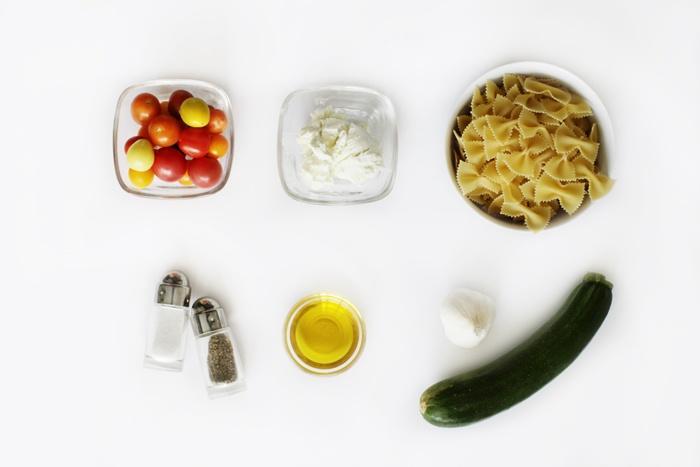 ... Cheese Pasta ingredients. Recipe by Lara Matos of Simply Irresistible