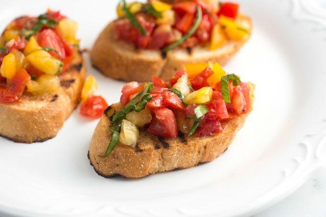 Bruschetta Recipe   Favorite Recipes   Pinterest