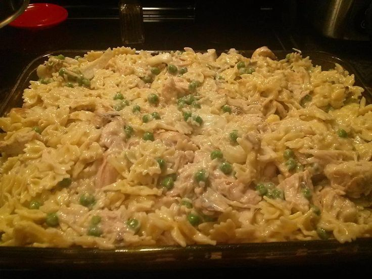 Chicken Tetrazzini | chicken tetrazzini | Pinterest