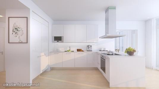 White kitchen  Valkoinen keittiö  Kitchens  Keittiöt  Kök  Pinte…