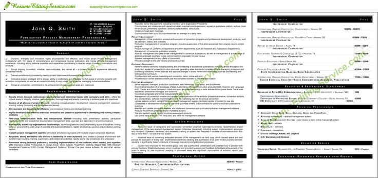 Http wwwresumeeditingservicecom different resume types for Resume editing services
