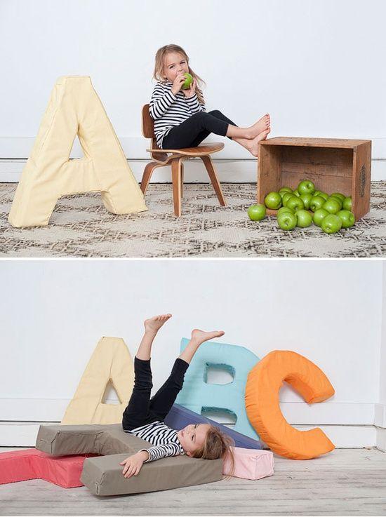 Mommo design diy for kids for Giant foam letters diy