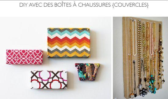 Diy crafts with shoe boxes i have to make pinterest - Fabriquer une boite a bijoux avec une boite a chaussure ...