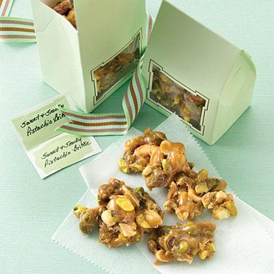 Sweet & Smoky Pistachio Brittle | Recipe