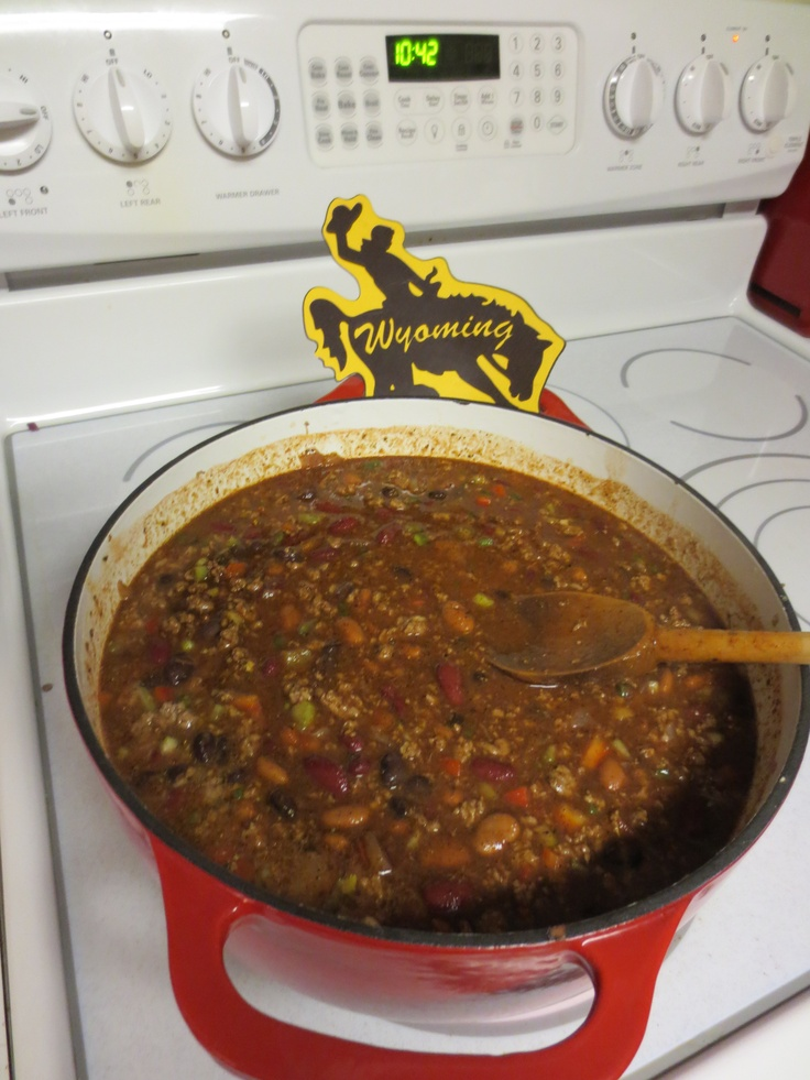 Jeff's Y-O Bubba Bean & Beef Chile | Food, Good Food! | Pinterest
