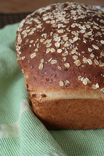 oatmeal wheat bread - My favorite sandwich bread. Makes so much dough ...