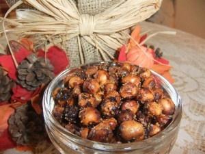 "Crispy &Sweet ""Nut-Free"" Garbanzo Bean Snack Recipe"