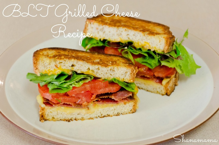 BLT Grilled Cheese Recipe with @Udi G. G.'s Gluten Free Foods