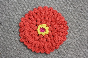 Lily: Download Free Pattern Details - Sugar n Cream - Zinnia ...