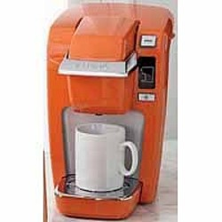 Keurig 174 mini plus personal brewer in orange bought it of course