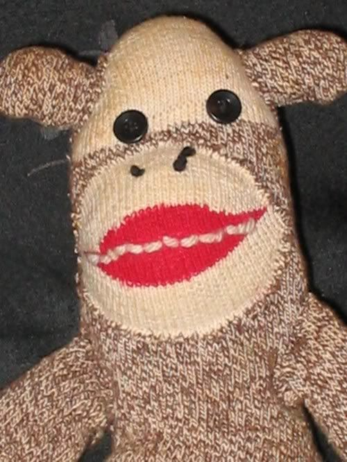 scary sock monkey | The Childhood I remember | Pinterest Scary