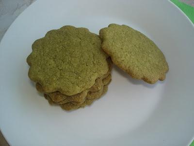 Matcha Cookies | Food | Pinterest